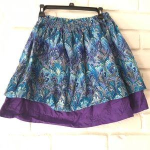 Dresses & Skirts - Homemade peacock skirt